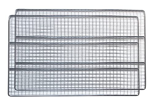 Unifit Cooking Grate Jerky Rack Replacement Parts for Masterbuilt 30 inch 40 inch Electric Smoker (40 inch Jerky Rack 2 PC)