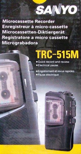 Sanyo TRC 515 M Mikro-Kassette Diktiergerät