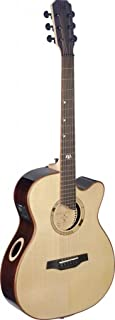 James Neligan ELI-ACE ELIJAH Series Auditorium Cutaway Acoustic-Electric Guitar