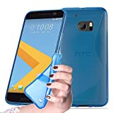 Cadorabo Case works with HTC 10 (One M10) in ROYAL BLUE -