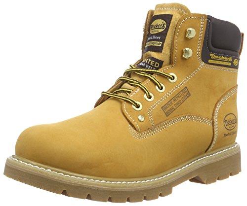 Dockers by Gerli 23DA104-300910, Herren Combat Boots, Beige (golden tan 910), 46 EU