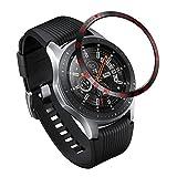 Syxinn Anello Castone per Samsung Galaxy Watch 46mm/Gear S3 Frontier/S3 Classic Anello Lunetta Acciaio Inossidabile Bezel Styling Cerchio Cover Adesiva Anti graffio Rotante quadrante di Protezione