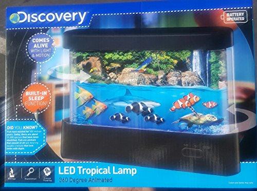 Discovery Kids Animated LED Marine Lamp