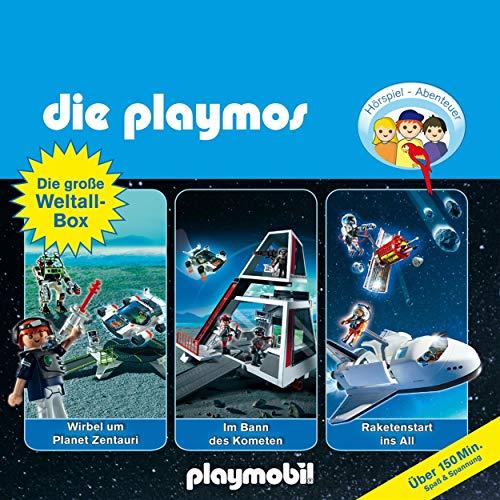 Die große Weltall-Box. Das Original Playmobil Hörspiel cover art