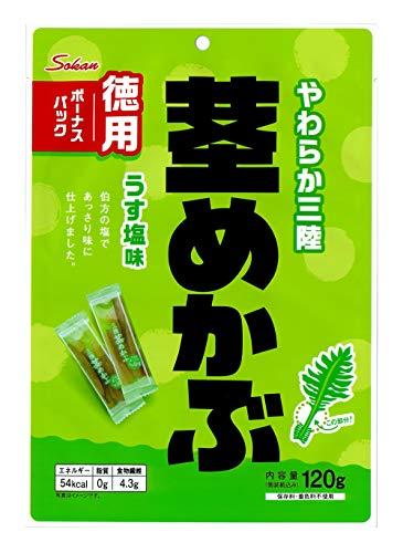 壮関 三陸産茎めかぶボーナスパック 120g ×6袋