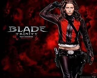 Jessica Biel 8x10 Photo Total Recall the A-team 1 Blade Trinity