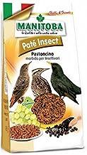 Manitoba - Pasta para pájaros insectivoros PATÉ Insect 400 gr