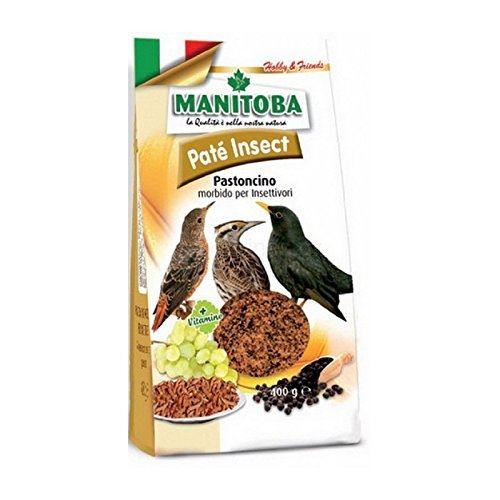 Manitoba - PATÉ Insect 400 gr Pasta para Aves insectívoras
