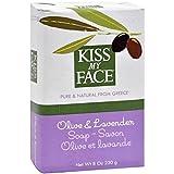 Kiss My Face Olive Oil & Lavender Bar Soap 8 oz