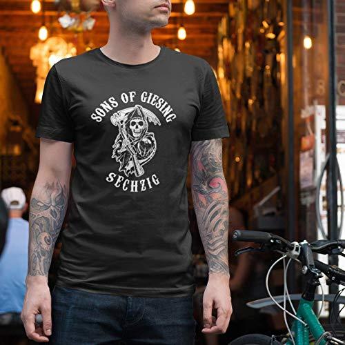 World of Football 1860 T-Shirt SONS of GIESING schwarz Schwarz - L
