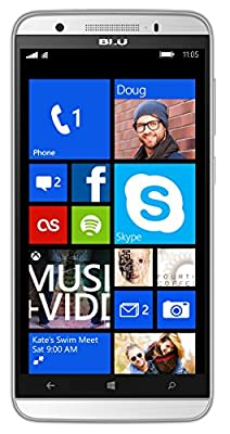 "BLU WIN HD LTE - 5.0"" Windows Smartphone -GSM Unlocked"