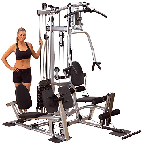 Body-Solid Powerline P2LPX Home Gym Equipment with Leg Press, Grey/Black