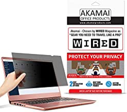 15.6 inch Akamai Computer Privacy Screen (16:9) - Blue Light Screen Protector - Laptop Anti Glare Screen Protector