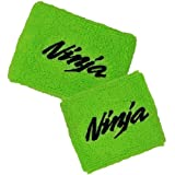 Kawasaki NINJA Green Brake/Clutch Reservoir Cover by MotoSocks Set Fits ZX-6R, ZX-9R, ZX-10R, ZX-12R, ZX-14R, ZX6, ZX9, ZX10, ZX12, ZX14, Ninja
