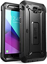 SUPCASE Samsung Galaxy J7 2017, Galaxy Halo Case, UB Pro Series Full-Body Rugged Holster with Built-in Screen Protector for Galaxy Halo/J7 2017 (SM-J727), Not fit J7 2018 (SM-J737) (Black)
