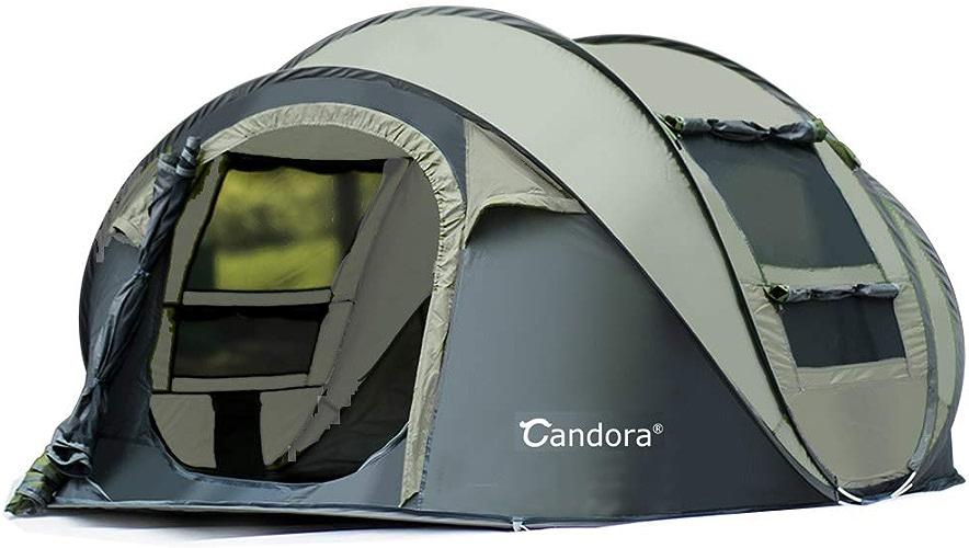 Candora. 4 Personnes Outdoor Speed Open Beach Camping Multi-Person Pluie Tente de Camping