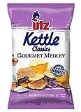 Utz Kettle Classics Gourmet Medley Kettle Style Potato Chips- 7.5 Ounce Bags (4 Bags)