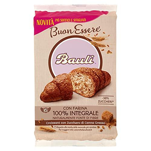 Bauli Croissant Buonessere Integrale, 1 confezione da 6 unità