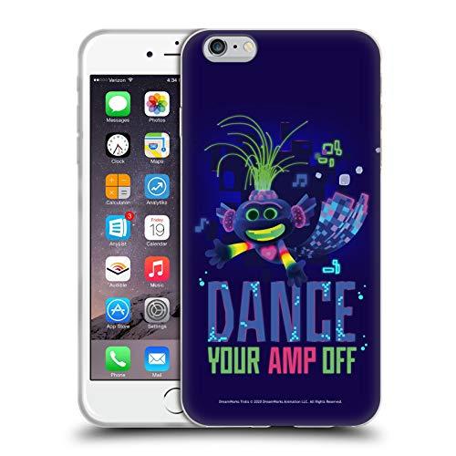 Head Case Designs Licenza Ufficiale Trolls World Tour Pop Techno Assortiti Cover in Morbido Gel Compatibile con Apple iPhone 6 Plus/iPhone 6s Plus