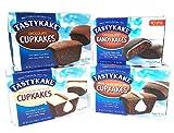 Tastykake Chocolate Lovers Variety Pack   4 Boxes Snack Cakes   Chocolate...