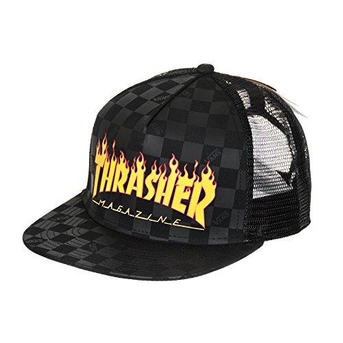 Gorra Vans X Thrasher Flame Black Edición Limitada
