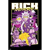 Grupo Erik GPE5235 Pster Rick and Morty Caracteres, Solo, Multicolor, 61 x 91.5 cm