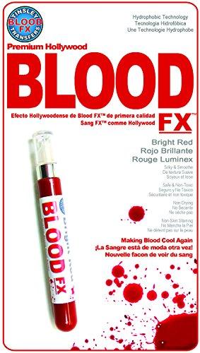Chaks MU-100, Fiole de faux sang hydrophobe