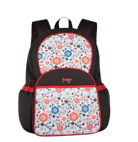 Thermos Foogo Backpack Diaper Bag, Poppy Patch