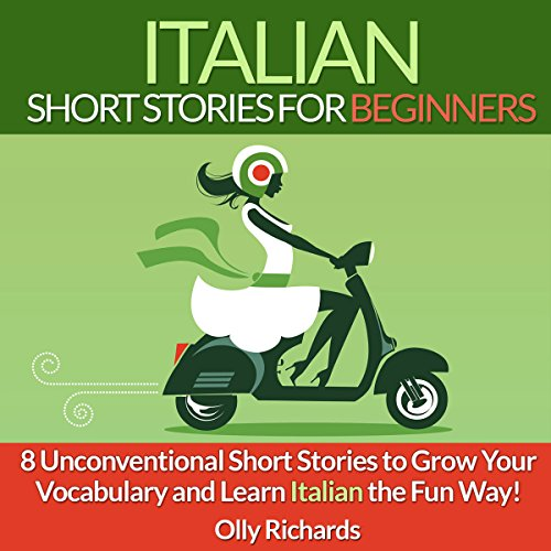 Italian Short Stories for Beginners audiobook cover art