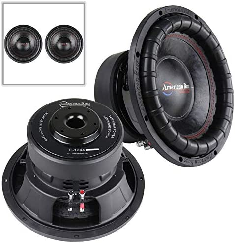 American Bass Elite Series 1244 2 Pack 12 Subwoofer Dual 4 Ohm 1200 W RMS Power product image