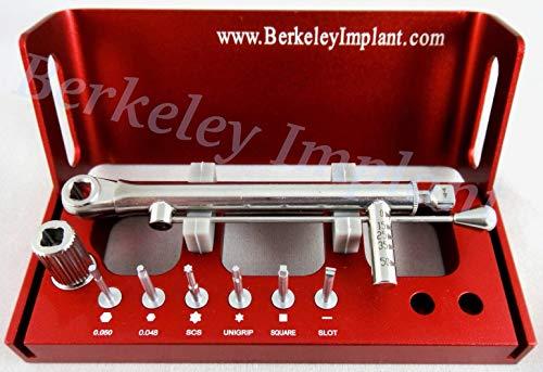 Dental Implant Multi-Driver Set for Dental Practices