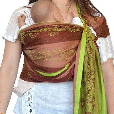Hoppediz – bandoulière, avec motif marrakech, couleur kiwi