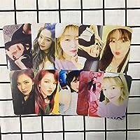 K-POP Red Velvet BADBOYアルバム紙写真カードウェンディアイリーンセルフメイドサイン写真カードポスター10個
