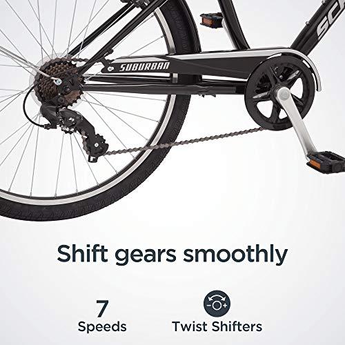 51IgD3thWnL。 SL500 Schwinn Discover Hybrid Bike for Men and Women