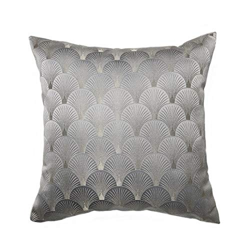 Blue Cushions Covers Home Decorative Throw Pillows Covers for The House sofa Square Pillowcases - gray,45 X 45 CM