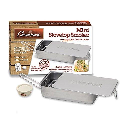 Cameron Gourmet Mini-Räucherofen, für drinnen und draußen