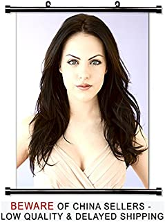 Elizabeth Gillies Sexy Actress Fabric Wall Scroll Poster (32x40) Inches