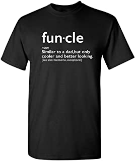 Feelin Good Tees Funcle Uncle Gift Idea Novelty Graphic Humor Sarcastic Cool Very Funny T Shirt