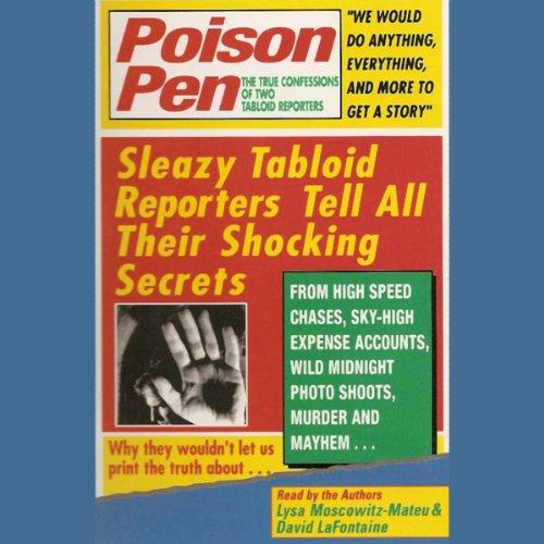 Poison Pen audiobook cover art