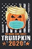 Funny Trumpkin Halloween Trump 2020 No More Boo Sheet: Daily Planner - Undated Daily Planner for Staying on Track