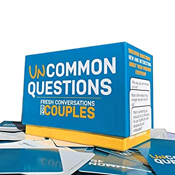 Uncommon Questions 200 Fresh Conversations Starters for Couples Daily Tool to Reconnect with Your Partner   Quick Relationship Strengthener   Works Great for Groups