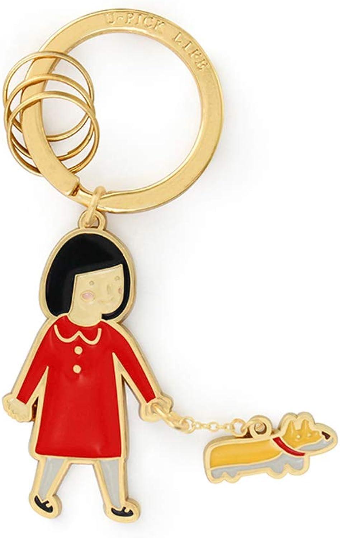 PLL Exquisite kreative Schlüsselbund schöne Mädchen Form einfache einfache einfache Schlüsselbund Tasche Anhänger B07GLPQ9C6 5fa51f