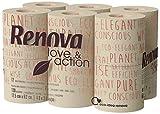 Renova Papel Higiénico Love & Action, Beige- Paquete de 9 x 12 Rollos- Total: 108