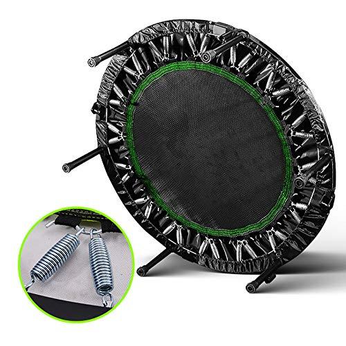 ASDAD 40ich Opvouwbare trampoline-rebounder voor volwassenen, cardio, jump, workout, stabiliteitstraining, oefening, fitness home entertainment