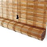 AINUO Bambú Rollo Terraza Porche Porche Pérgola Cabana Gazebo para exteriores Sombra/Jalouses al aire libre, 85 cm/105 cm/125 cm/145 cm de ancho (tamaño: 85 × 180 cm)