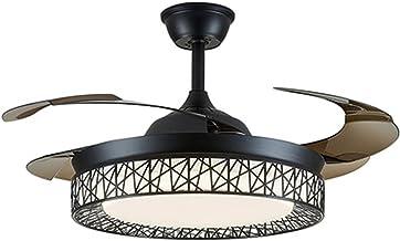 Binnenverlichting plafondventilator met drie bladen, lichtschakelaar met drie snelheden, omzetting van vooruit en omgekeer...