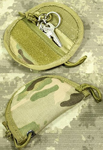 TMC Airsoft Multicam MTP MOLLE Key Silencer Pouch Pocket Cordura