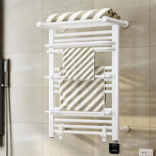 GYW-YW Calentador de Toalla Toalla Calentador eléctrico, montado en la Pared 304 Redonda de Acero Inoxidable Barra Caliente de la Toalla de Acero Inoxidable Calentador de Toallas de baño Toalleros