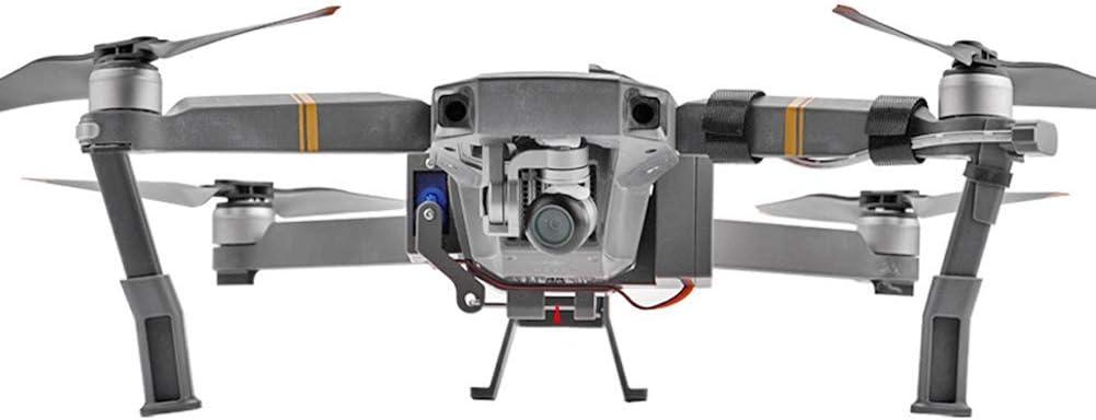 Amusingtao Drone Lanzador Transporte Aire Caída ABS B Cargador Entrega Dispositivo Profesional Regalo Gris Boda Propuesta Dispensador Ligero Accesorios para dji Mavic 2 Pro Zoom (2)