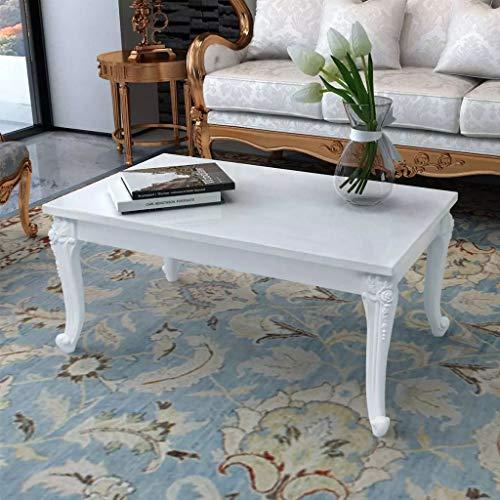 vidaXL Hochglanz Couchtisch Beistelltisch Kaffeetisch Wohnzimmer 100x60x42 cm